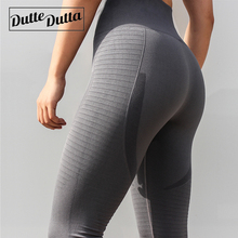 Duttedutta font b Fitness b font Yoga Sports Leggings for Women Sports Tight Mesh Yoga Leggings