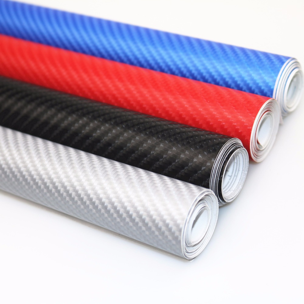 20CMX1520mm DIY Car Styling 4D Thicken 3M Car Carbon Fiber Vinyl Wrapping Film Car Stickers Waterproof With Air free bubbles high quality apple green carbon fiber film vinyl car sticker for car wrapping with air bubble free fedex free shipping 30m roll