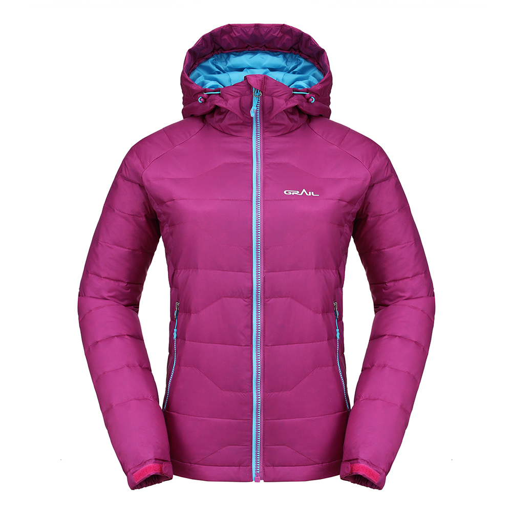 Grail Outdoor Skiing Down Parka Winter Jacket Women Windproof Thermal Hiking Down Jacket Camping Travel Snowboarding Coat 6528A отпариватель centek ct 2371 голубой