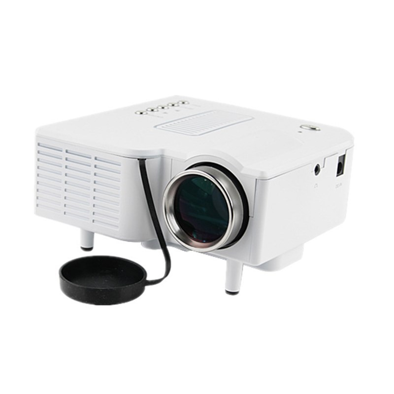 UNIC UC28+ Mini LED Digital Video Game Projectors Multimedia Player Inputs AV VGA USB SD HDMI Projector Built-in Speaker