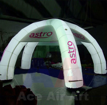 Popular And Fashion Led Light Inflatable Yard Tent For Family Party
