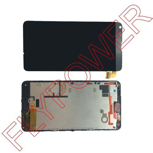 ФОТО For Nokia For Microsoft Lumia 640 LCD Diaplay Screen Touch Digitizer + Frame Assembly Replacement Black by Free Shipping