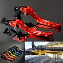 FREAXLL Folding Aluminum Motorbike Levers Motorcycle Brake Clutch For SUZUKI GS500 GS500E GS500F GS 500 500E 500F