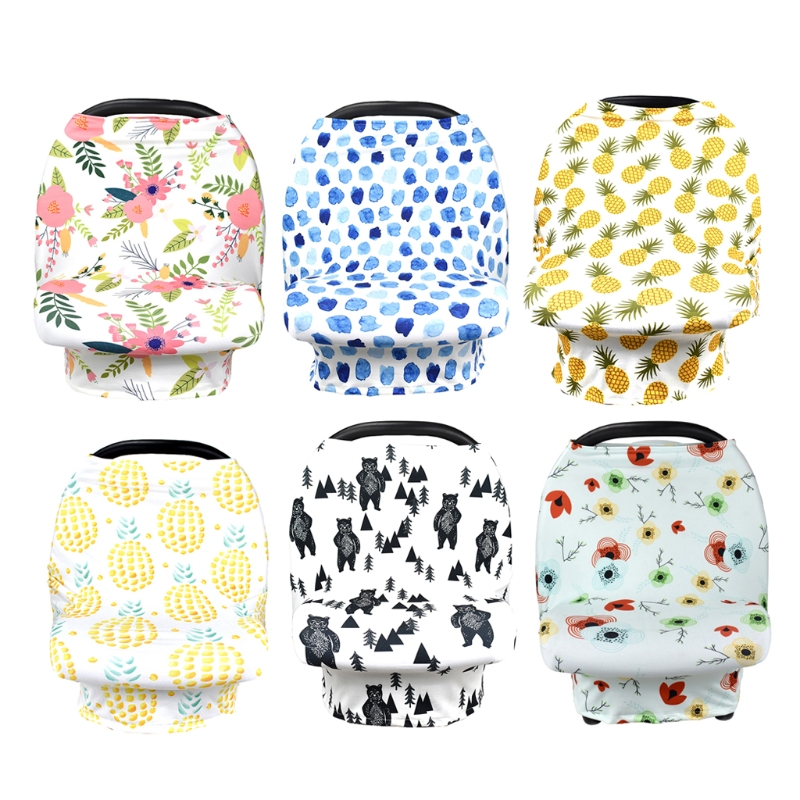 Nursing Cover Scarf For Mum Feeding Baby Car Seat Canopy Shopping Cart Cover #0713