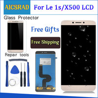 AICSRAD For Letv LeEco 1s X500 LCD Screen Display Touch Panel Replacement compatible For le1s le 1s X501 Digitizer Assembly