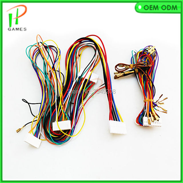Wire harness for Mario Game PCB Slot Game Board for Casino Game Machine connection push button_640x640 wire harness board frame switch boards, pin boards, frame boards wire harness board frames at reclaimingppi.co