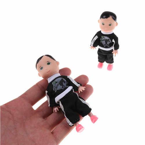 1 pcs חמוד קטן ילד בן בובות ילדה תינוק ילד בן בובות סופר קטן צעצועי 10Cm