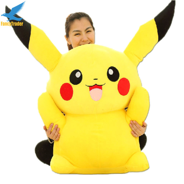 Fancytrader Large 120cm Super Stuffed Giant Pikachu Plush