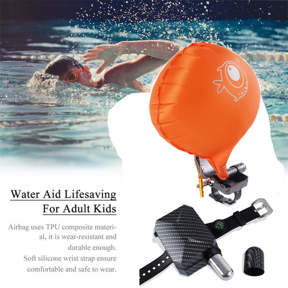 US $7 12 5% OFF|Anti Drowning Bracelet Floating Wristband Aid Lifesaving  Wearable Water Buoyancy Aid Device For Fishing,Swimming,Diving,Outdoor -in