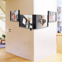 LEGGY HORSE 4pcs Set 4 X 6 Flexible Transparent Acrylic Photo Frame Detachable DIY Shape To