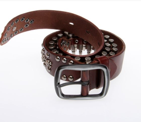 Llavero De Cuero Clip De Cinturón Accesorio Multi Clip de cuero genuino Hecho en Reino Unido