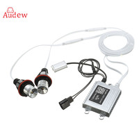 2Pcs 10W WIFI Phone Remote Control Car Auto RGB LED Angel Eyes Halo Ring Light Bulb
