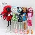 Высококачественные модные куклы-монстры Draculaura/Clawdeen Wolf/ Frankie Stein / Black WYDOWNA Spider, подвижное тело, игрушки для девочек, подарок