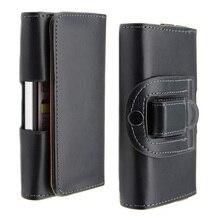 Ceinture Clip étui en cuir PU Mobile cas de téléphone Pouch Smartphone pour Alcatel One Touch Pop 4 + couverture de téléphone portable