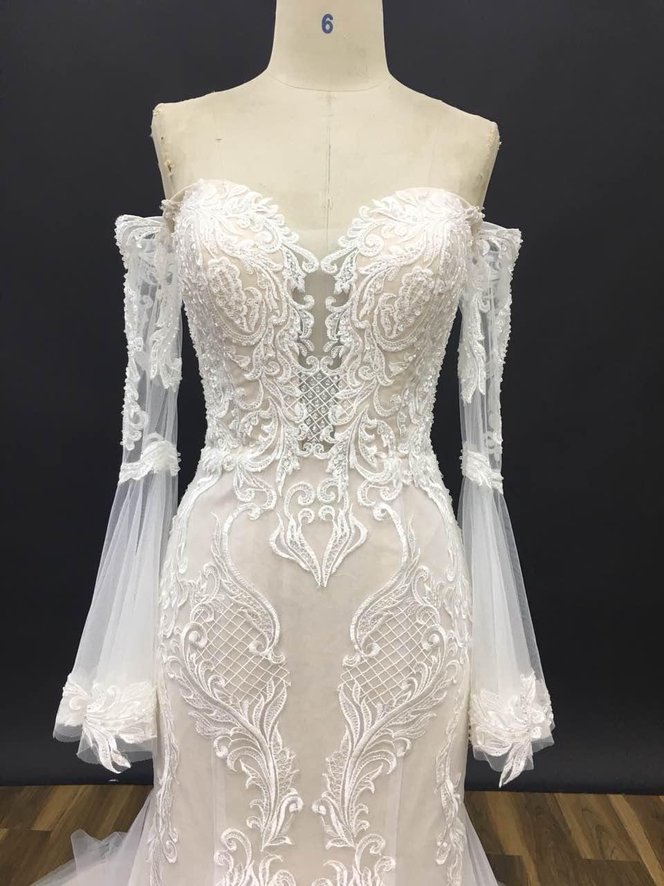 vory cream wedding dresses