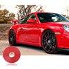 Car Wheel Hub Tire Protector Sticker For Cadillac ATS Porsche 911 Cayenne Macan Mercedes W211 Benz