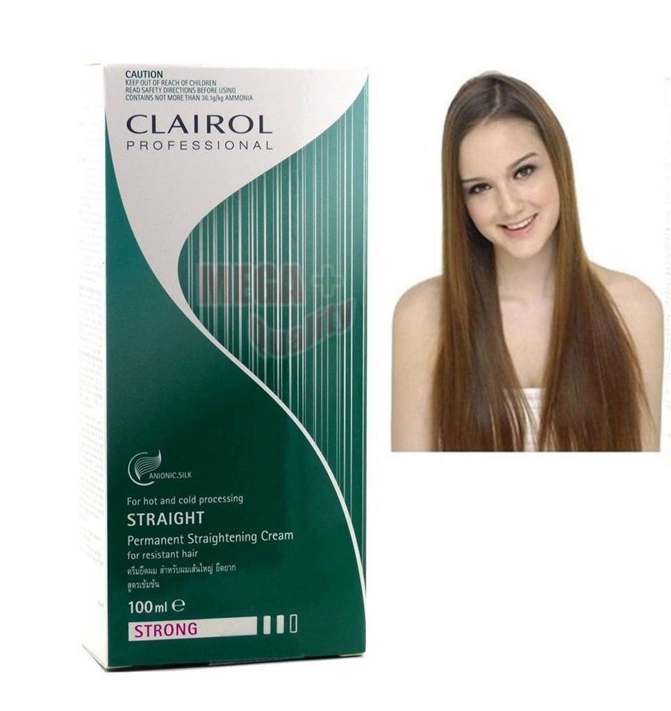 Straight permanent hair - Professional Straight Permanent Straightening Hair Cream Strong 100ml Free Shipping China Mainland