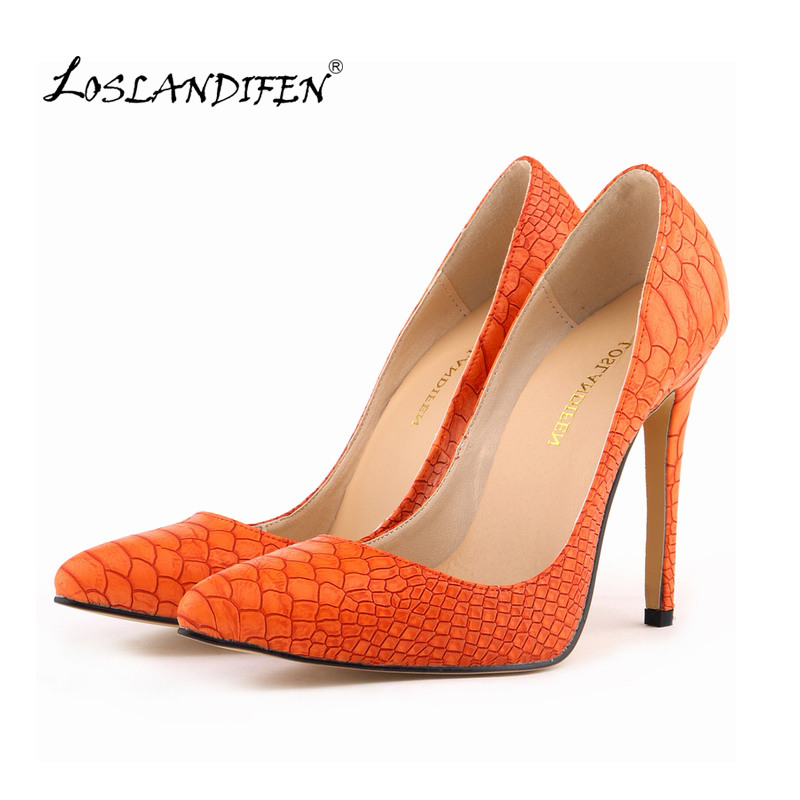 Classic Sexy Pointed Toe High Heels Women Pumps Shoes Faux snake Spring Brand Wedding Pumps Big Size 35-42 5 Color 302-1Snake sexy pointed toe high heels women pumps shoes new spring brand design ladies wedding shoes summer dress pumps size 35 42 302 1pa