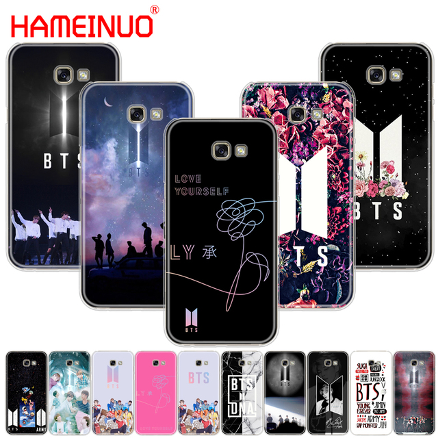 size 40 49206 99078 US $1.99 32% OFF|HAMEINUO BTS Bangtan Boys Coque NEW LOGO cell phone case  cover for Samsung Galaxy A3 A310 A5 A510 A7 A8 A9 2015 2016 2017 2018-in ...