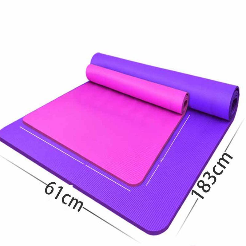 Body Line Thick Hot Yoga Pilates Mats Gymnastics Balance Pads Fitness Mats Non-Slip Dance Pads 7