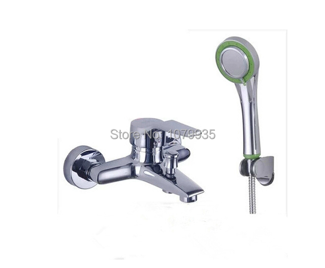 hose hook up shower Thread the hose of the handheld shower attachment onto the outlet fitting of the diverter spout and tighten securely turn on the water and lift the button on top of the spout to divert water to.