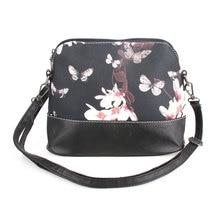 Women PU Leather Floral Print Handbag Fashion Shoulder Satchel Messenger Bags Clutch Small Travel Crossbody Bag Bolsa Feminina