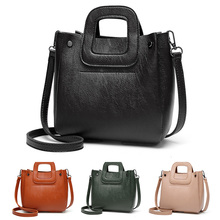 Women Shoulder Bag 2019 Clutch Handbags Ladies Pu Leather Fashion Messenger Bags For Crossbody Female Adjustable black