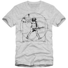 Vitruvian Guitarist T-Shirt