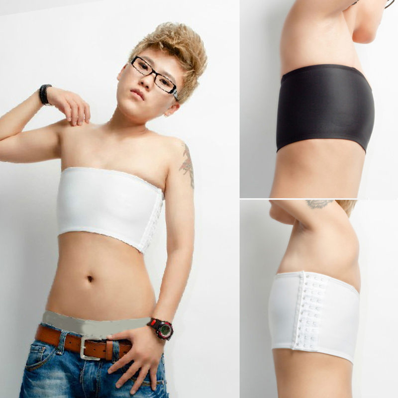 Casual Strapless Chest Breast Binder Trans Lesbian Tomboy Cosplay