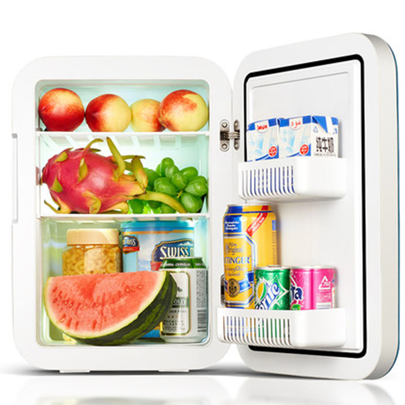 Image 2 - 20L Refrigerator Car Refrigerator Mini Small Home Dormitory Dormitory Car Dual use Student Single door Kemin 20L small refrigera-in Refrigerators from Home Appliances