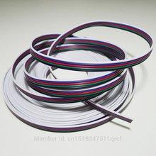3 м/лот, луженый медный кабель, 22AWG 5 pin кабель RGB, с ПВХ изоляцией провода, 22 awg провода, электрический провод, светодиодный кабель, DIY соединение