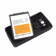 High Capacity 8000mAh Battery For LG G3 BL-53YH Replacement Extended Battery With Black  Protective Case