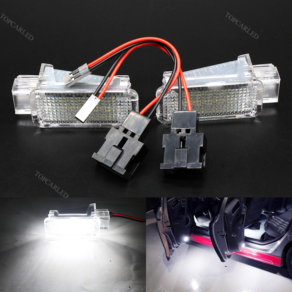 LED Car Door Warning Welcome Courtesy Light for AUDI VW A4 A6 A8