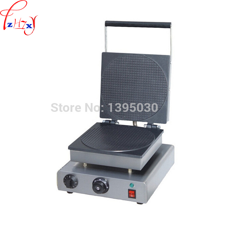 FY-2209 Electric Waffle Maker Commercial ice Cream Cone Machine stainless steel Cone Egg Roll Maker 1pc free dhlship to your home dhl ship electric fry ice cream machine one pan milk ice roll machine r410 fried ice pan machine