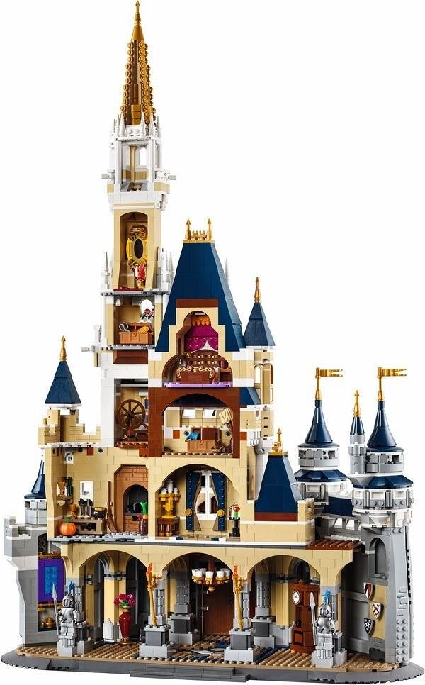 16008 Cinderella Princess Castle City 71040 Model Building Block 4080pcs Bricks Kid Toys For Children Gift Compatible 4080pcs city figures cinderella princess castle model building kits blocks bricks toys for children christmas compatible 71040