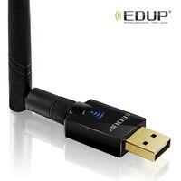 EDUP Brand Dual Band 11ac 600Mbps Wifi Adapter 6dbi Wifi Adapter USB Antenna Black Usb Wireless