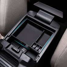 Black ABS Plastic Car Center Console Armrest Storage Box Tray Container Holder For MAZDA 6 ATENZA 2013 - 2017 Car Styling for kia rio 2017 2018 abs car armrest box center console storage box car accessories decoration holder case car styling qcbxyyxh