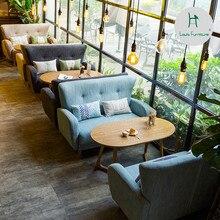 Луи Мода кафе мебель Наборы магазин диван скандинавские повседневное искусство десерт