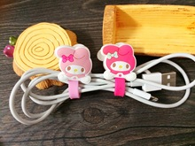 Kawaii Rabbit Winder Cable Earphone Wire Organizer Headphone Cord Holder Headset Usb Cable Management