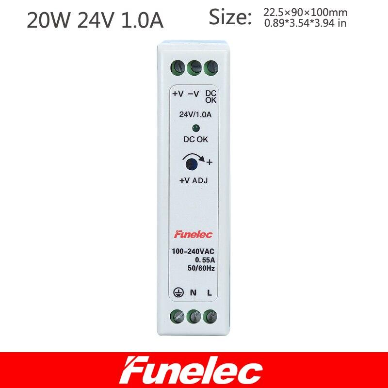 все цены на SMPS Mdr-20-24 20W 24V Single Output DIN Rail Power Supply