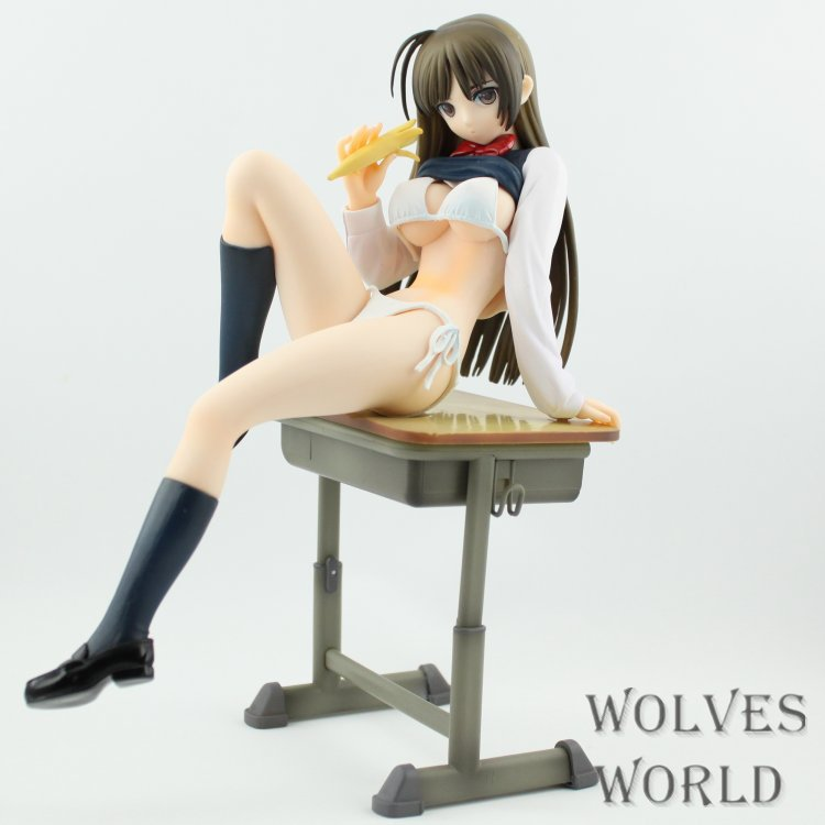 Sexy Girl Japanese Anime TONY Native Sexy Girl Action Figure with Banana 18X  Collection Model Toy SG036 free shipping anime sexy figure native creator s collection gamer girl ghost month maid bride sexy pvc action figure model toy