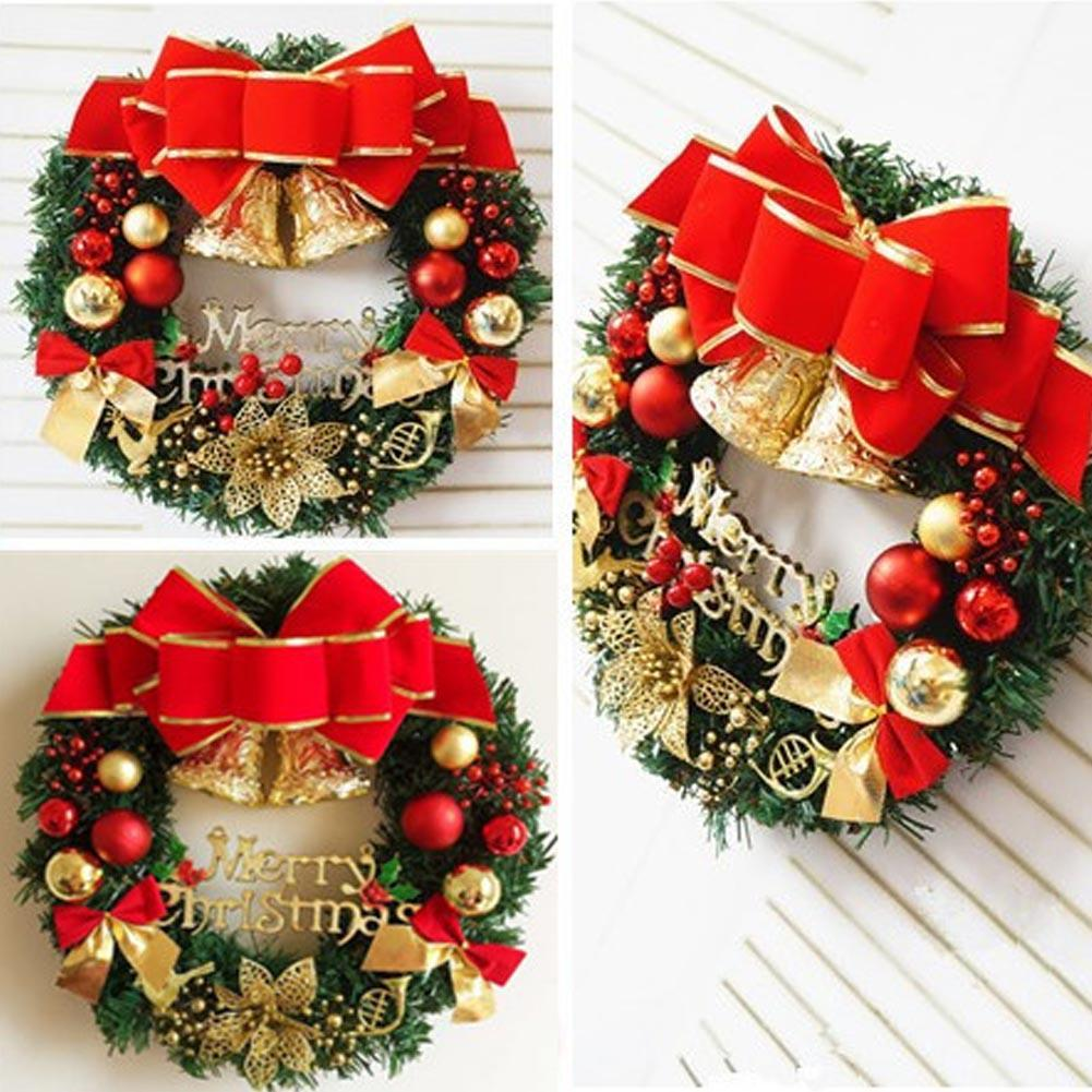 Wall hanging christmas decorations rainforest islands ferry christmas decorations door hanging wreath tree wall hanging decor christmas wreaths hanging ornaments l45 in amipublicfo Gallery