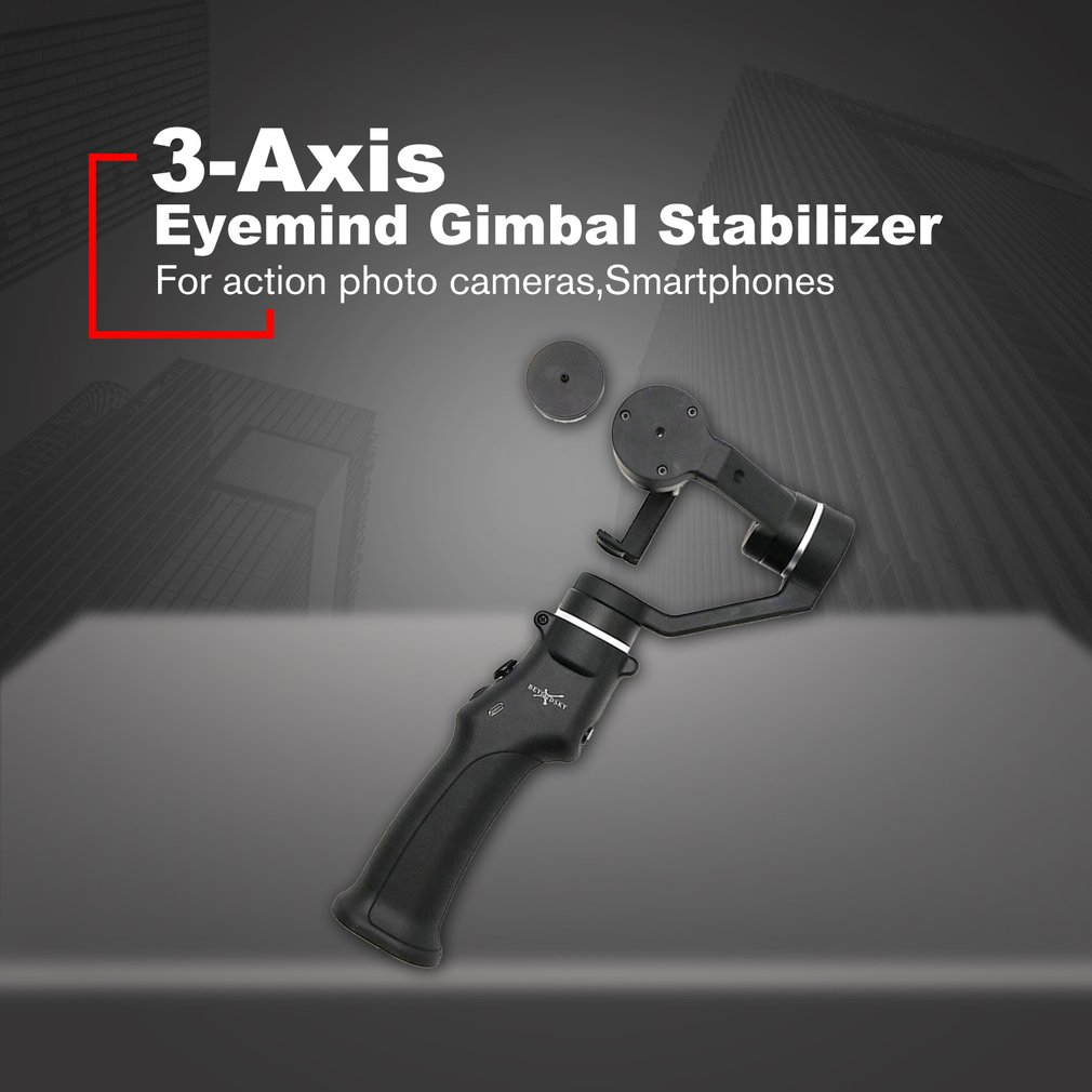 Eyemind 3-Axis Smartphone Handheld Gimbal Stabilizer for iPhone XS X 8 Xiaomi Samsung S9 S8 Action Camera PK Smooth 4Eyemind 3-Axis Smartphone Handheld Gimbal Stabilizer for iPhone XS X 8 Xiaomi Samsung S9 S8 Action Camera PK Smooth 4