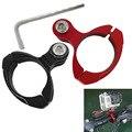 Para Gopro Montagem CNC de Alumínio Da Bicicleta Da Motocicleta Guiador Montar Roll Bar suporte para gopro hero 4 3 xiaomi yi sj4000 câmera de ação