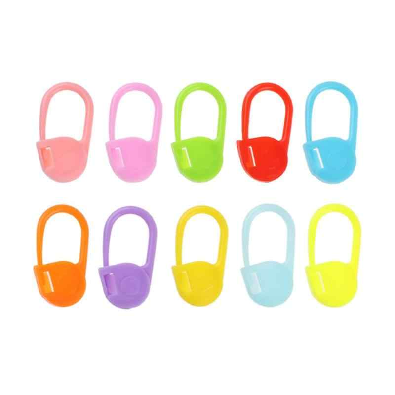 20/50/100Pc /Lot Useful Plastic Pins Sweater Mark Buckle Needle Knitting Accessories Yarn DIY Weaving Sewing Tools & Accessory