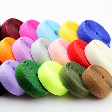 1 метр 2 см несколько цветов крюк и петля крепежная лента Волшебная нейлоновая наклейка клейкая петля диски Velcros без клейкой ленты Fastene