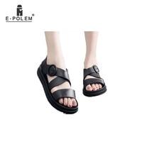 Flat Plastic Sandals Female Summer Thick Bottom Non slip Waterproof Wild Korean Version Student Jelly Beach Shoes Women Fashion