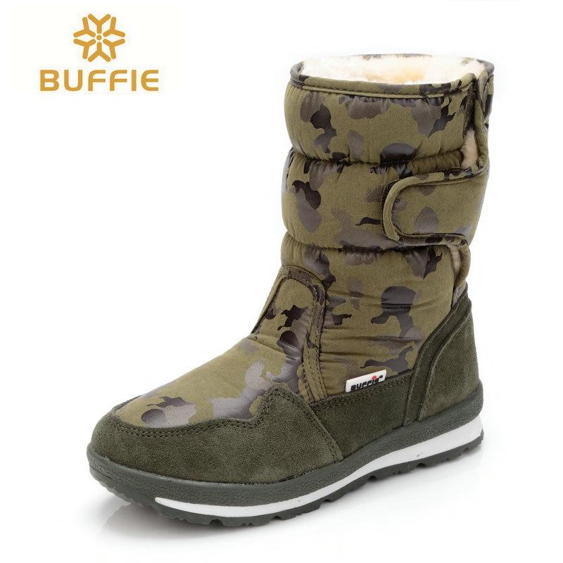 Chaussures Hommes hiver chaud bottes camouflage-ski taille petite à grande pieds populaire nouveau design de fourrure semelle mâle style livraison gratuite 41