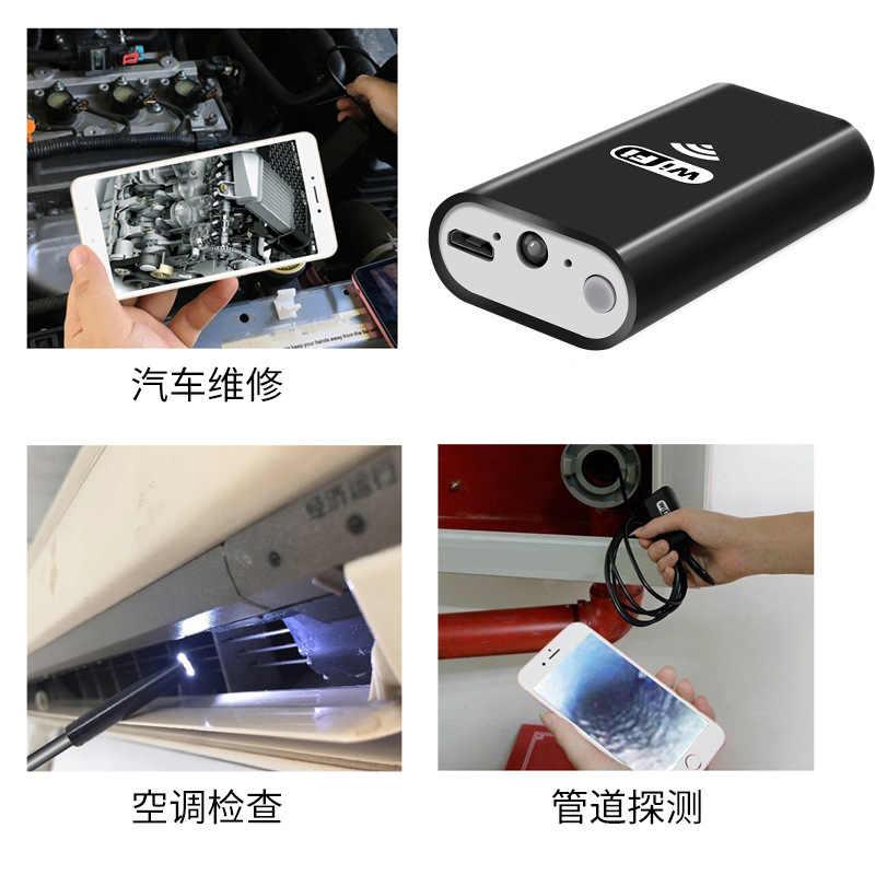 Impermeable LED Mini cámara WIFI USB endoscopio alambre serpiente tubo inspección boroscopio para cámara Android Smartphone