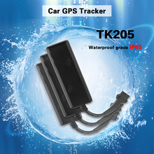 TK205 Car Motorcycle Electric Vehicle GPS Locator Tracker Car Built-in GSM GPS Antenna Car GPS Locator cheap Haoday Approx 85x27x16mm No Screen Internet Connected 30 Hours Up